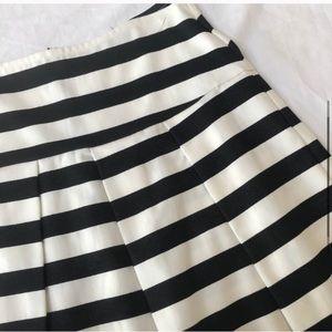 Pim & Larkin Anthropologie Black & White Skirt